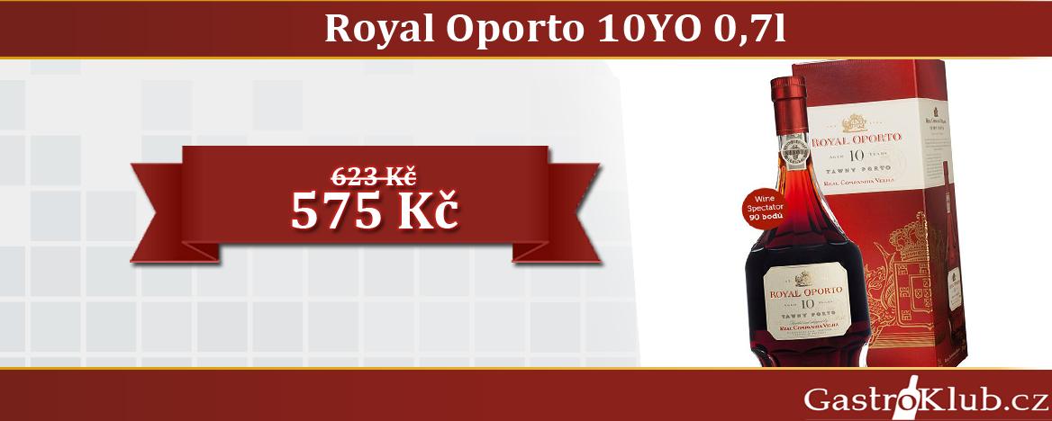 ROYAL OPORTO 10 YEARS AGED TAWNY 0,75 L