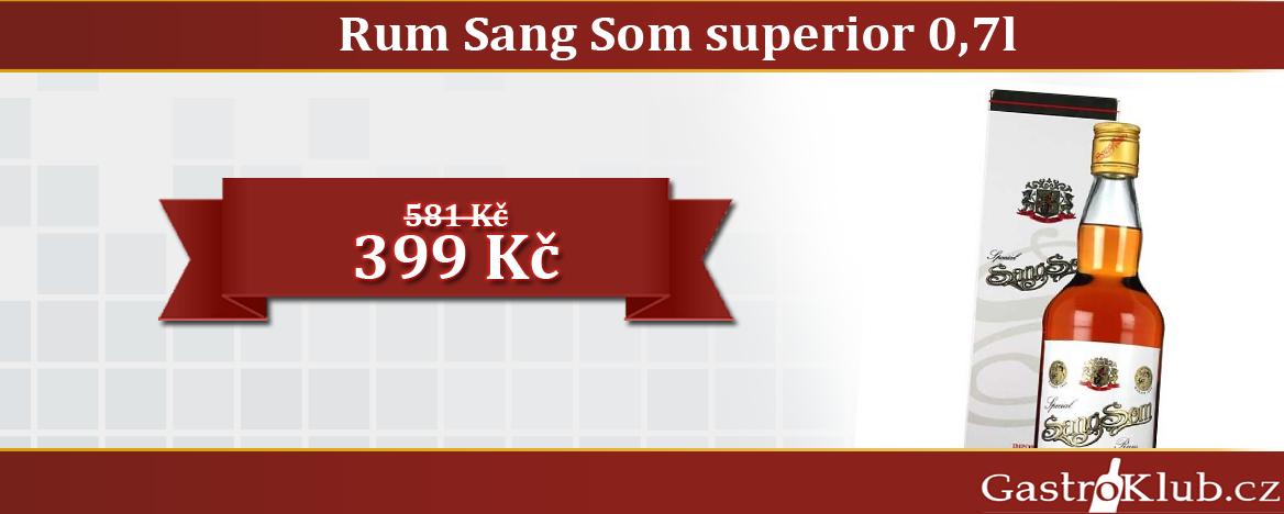 RUM SANG SOM SUPERIOR 40% 0,7 L