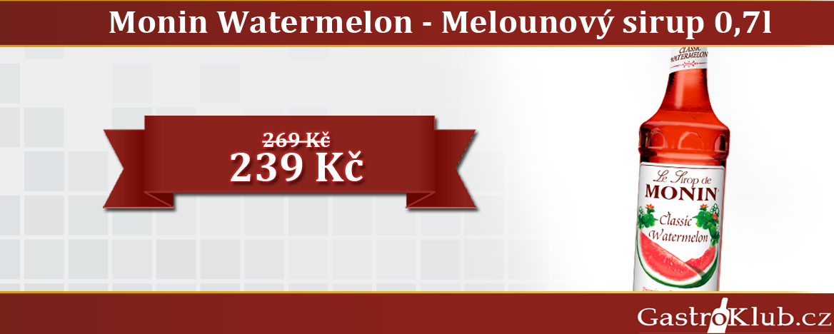 MONIN WATERMELON 0,7 L