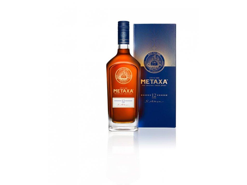 Metaxa 12* 0,7 l v dárkovém balení