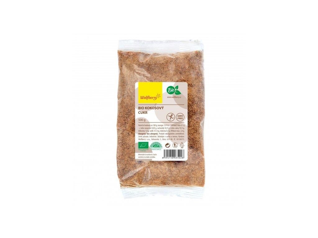 Kokosový cukr Wolfberry BIO 500 g