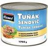 Tuňák drcený v rostlinném oleji 1,7 Kg Hamé
