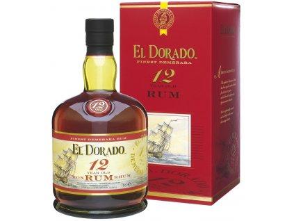 Rum El Dorado 12 letý 0,7 l