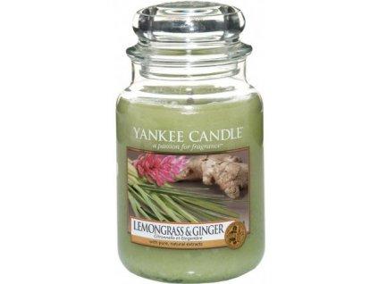 Yankee Candle Lemongrass & Ginger 623 g velká