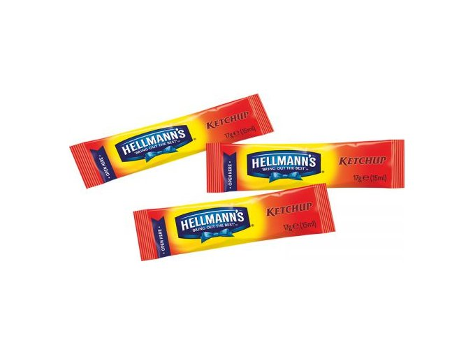 Kečup jemný Hellmann's porce 200x 15ml