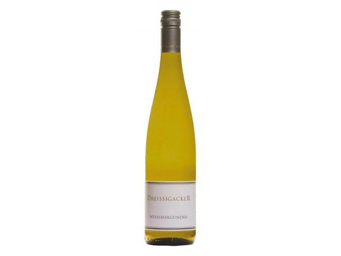 Dreissigacker Weissburgunder Qualitatswein trocken 2015 0,75l