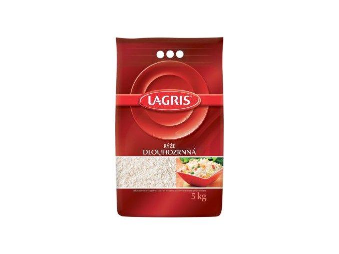 Rýže Dlouhozrnná loupaná 5 Kg Lagris