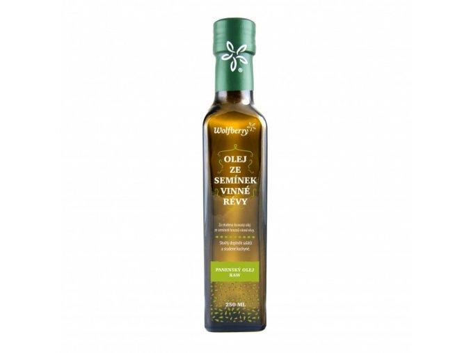 BIO olej ze semínek vinné révy 250ml Wolfberry
