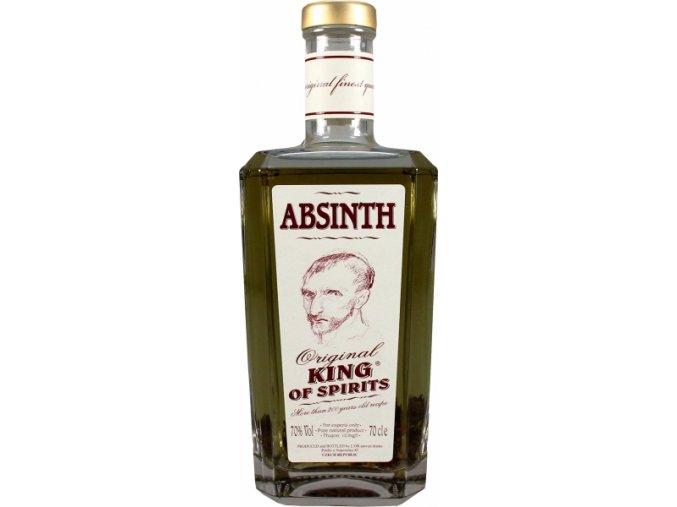 Absinth King of Spirits 70% 0,7 l