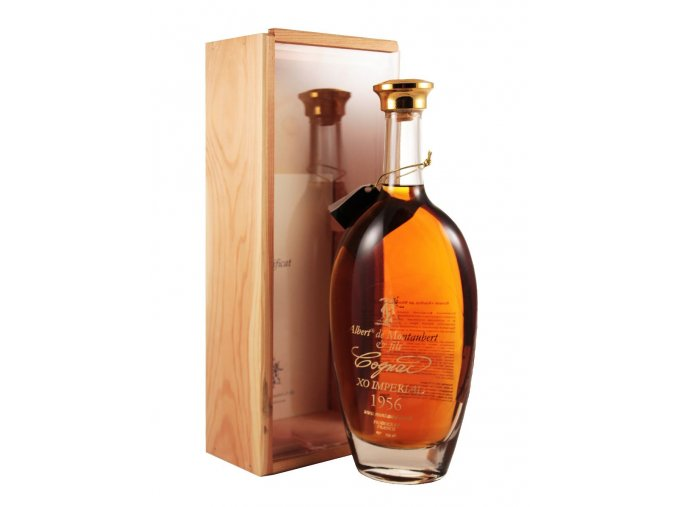 Cognac Albert de Montaubert ročník 1962 0,7 l