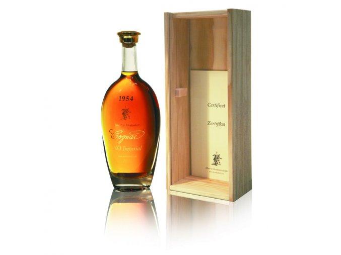 Cognac Albert de Montaubert ročník 1973 0,7 l
