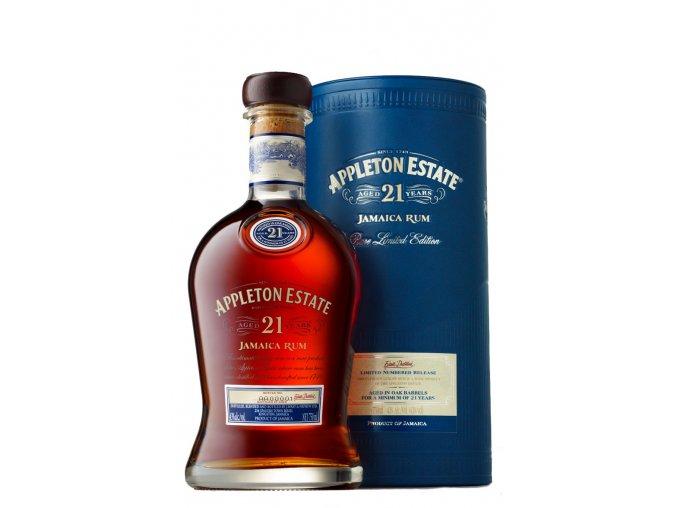 Rum Appleton Estate 21YO 0,7l 43% v tubě