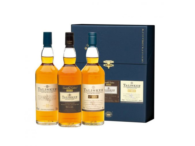 Whisky Talisker Malts - Dárková kolekce 3x0,2L MINI