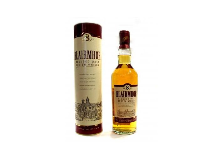 Blended Malt Whisky Blairmhor 8 y 0,7 l