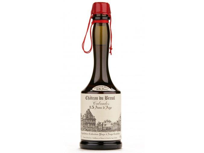Calvados Chateau du Breuil 15YO 41% 0,7 l