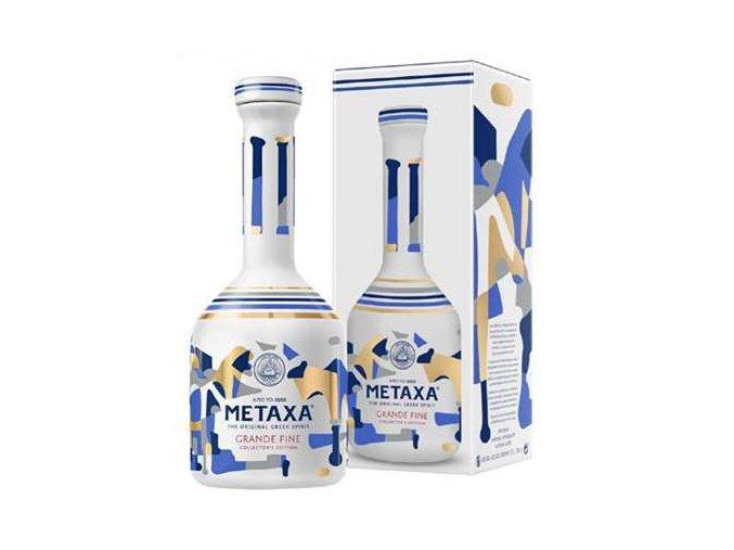 Metaxa Grande Fine porcelan 15YO 0,7l edice 2017