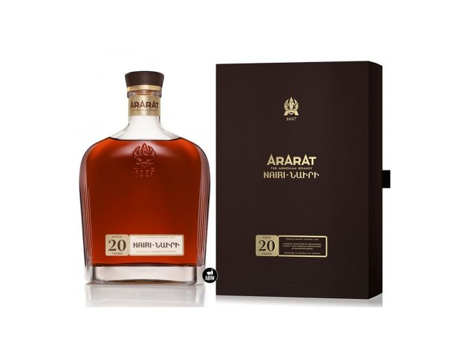 Brandy Ararat Nairi 20 letá 0,7 l