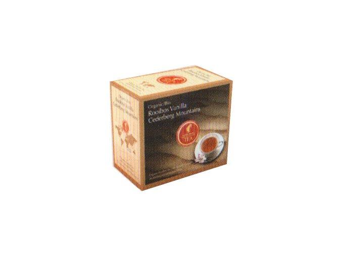 Prémiový čaj Rooibos Vanilla Cederberg Moutains Organic 20x3 g Julius Meinl