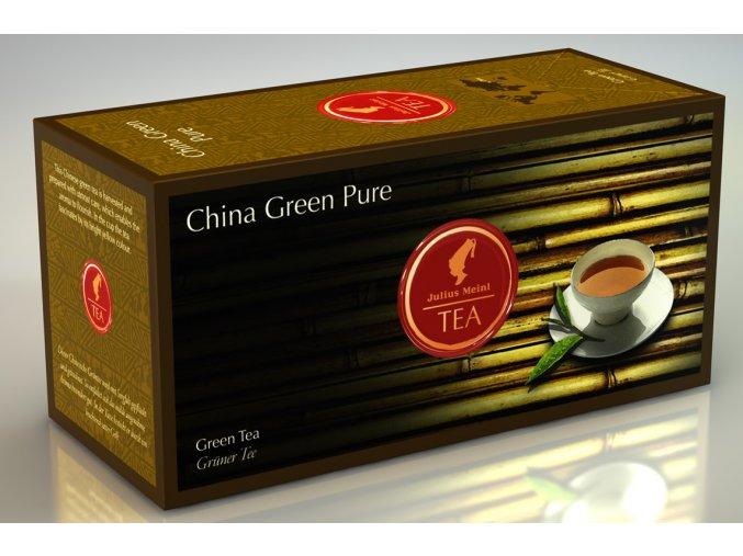 Prémiový čaj China Green Pure Chun Mee Organic 20x3 g Julius Meinl