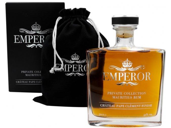 Rum Emperor Private Collection v dárkovém balení 42% 0,7l