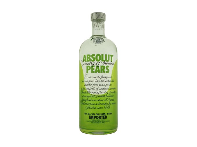 Absolut vodka Pears 1 l