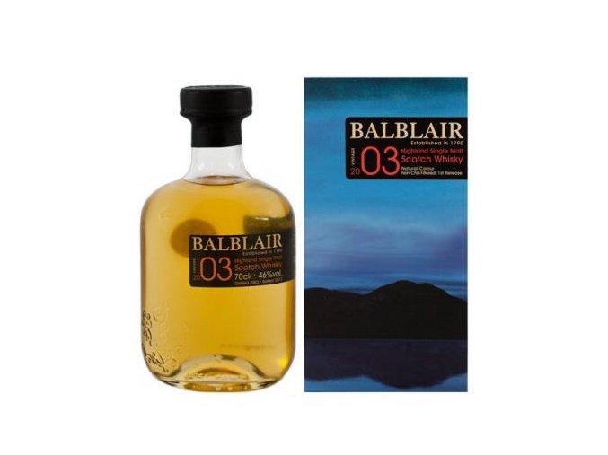 Whisky Balblair Vintage 2003 0,7 l