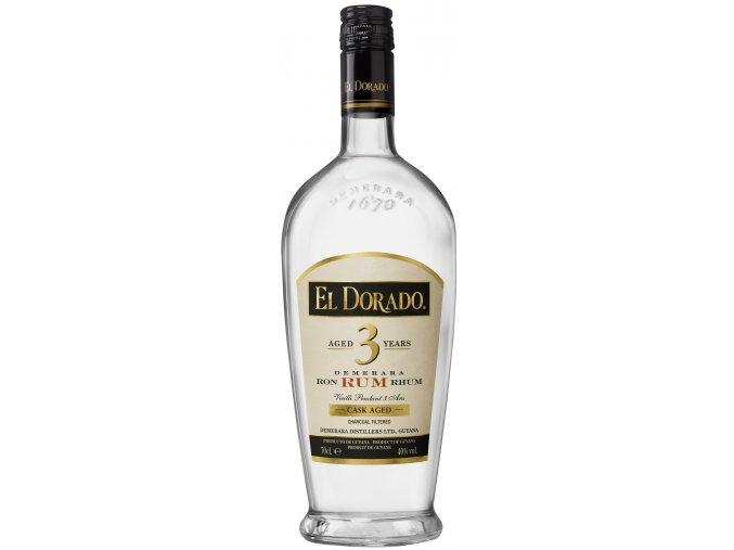 El Dorado white 3y 37,5% 0,7 l (holá láhev)
