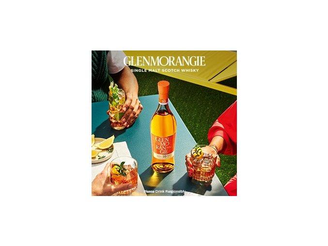 Whisky Glenmorangie Original 10 letá 40% 0,7 l v kartonku