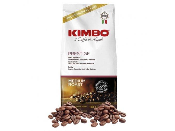 Káva Kimbo Espresso Bar Prestige zrnková 1 Kg