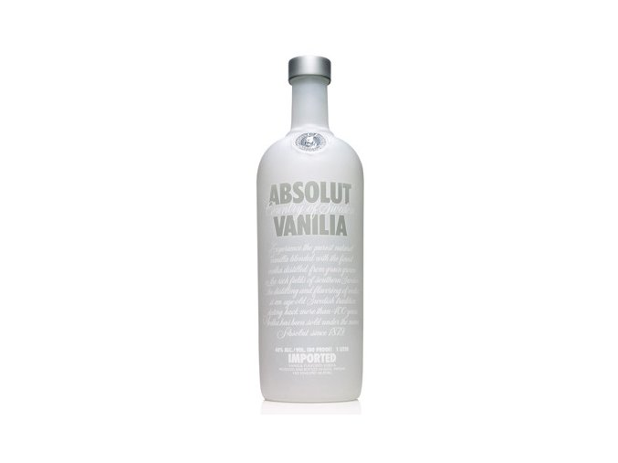 Absolut vodka vanilia 1 l