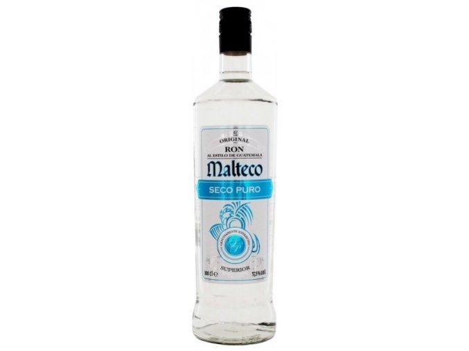 Rum Malteco Seco Puro 1 l 37,5%