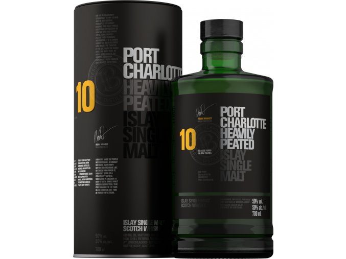 Bruichladdich Port Charlotte 10YO 50% 0,7l