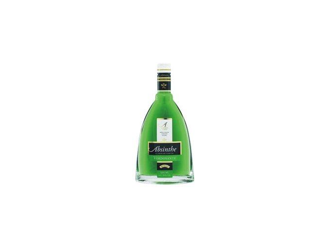 Absinthe Verdoyante 60% 0,5 l Metelka