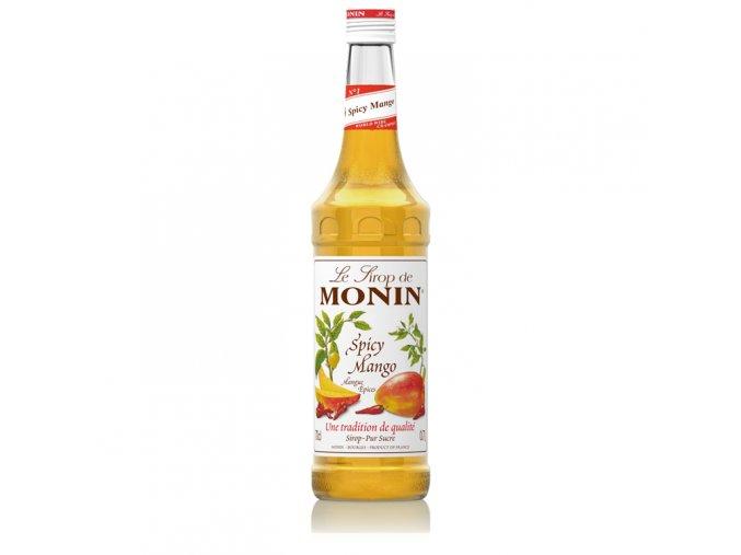 Monin Mango Spice - kořeněné mango 0,7 l