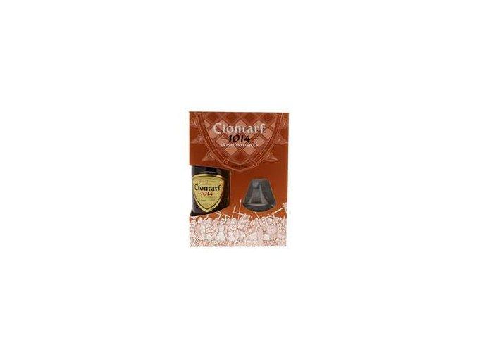 Clontarf Single Malt 0,7l se skleničkou