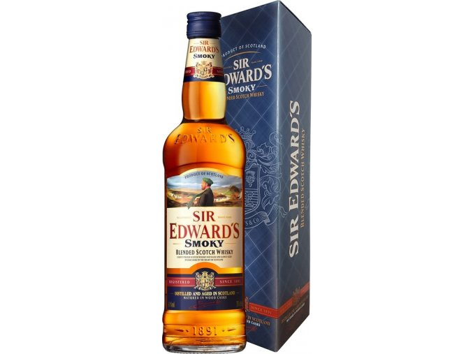 Sir Edwards Smoky Blended Scotch Whisky 40% 0,7l