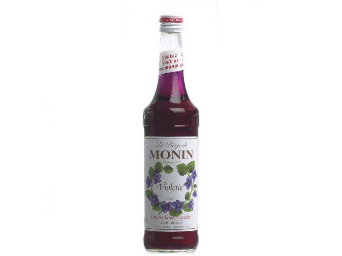 Monin Violet - fialka 0,7 l