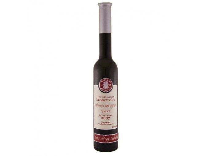 Cabernet sauvignon ledové víno sladké 2013 0,2 l Lechovice