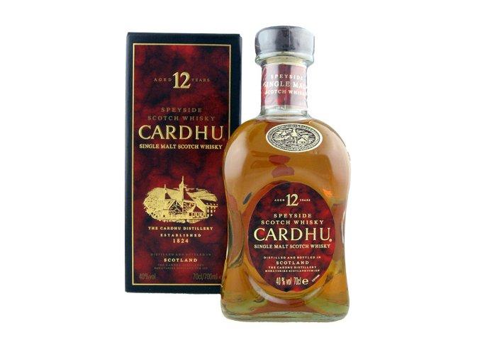 Cardhu 0,7 l 12 letá