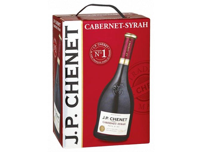 jp chenet cabernet syrah bag in box 3l