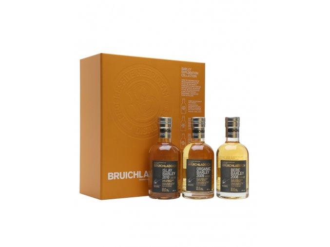Bruichladdich Barley Exploration Tripack 50% 3x0,2l