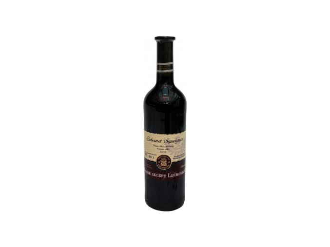 Cabernet Sauvignon pozdní sběr suché 2011 0,75 l Lechovice