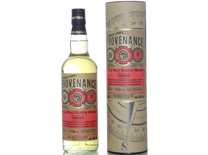Whisky Provenance Tamdhu 11YO Single Malt 46% 0,7l