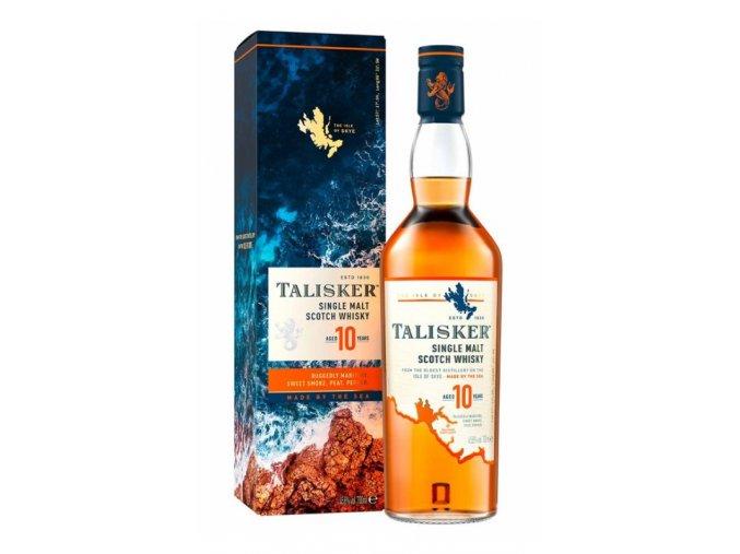 Talisker 10 yo Single Malt 0,7l 45,8%