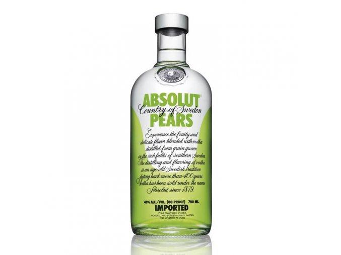 Absolut vodka pears 0,7 l
