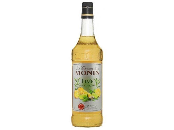 Monin lime juice 1 l ( limetkový džus )