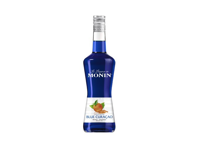 Monin Liqueur de Blue Curacao 20% 0,7 l