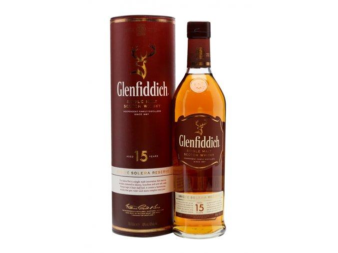 Glenfiddich 15let Solera 0,7 l