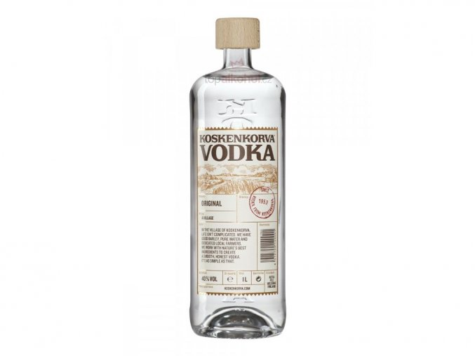 Vodka Koskenkorva 40% 1 l (holá láhev)