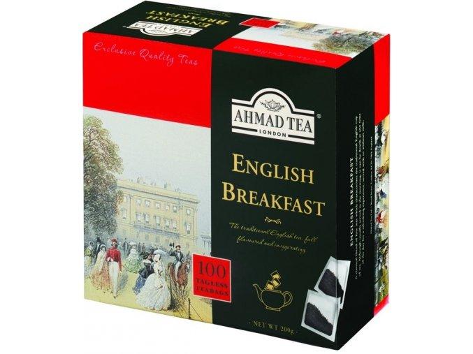 Čaj English Breakfast 100 sáčků Ahmad Tea